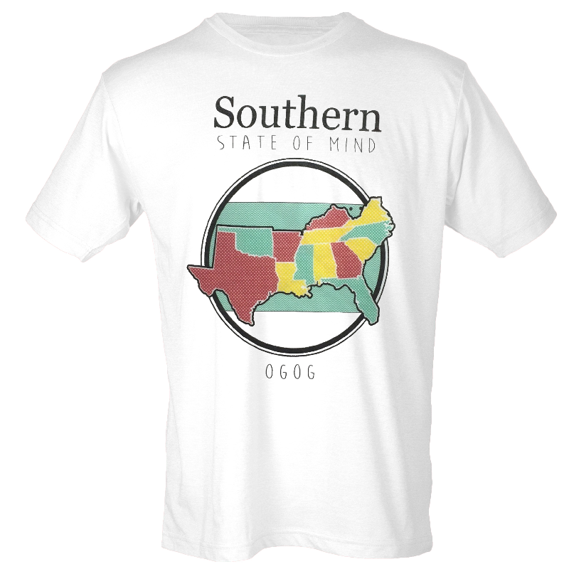 JJ Lawhorn White Southern State of Mind Tee