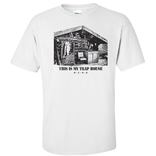 JJ Lawhorn White This Is My Trap House Tee