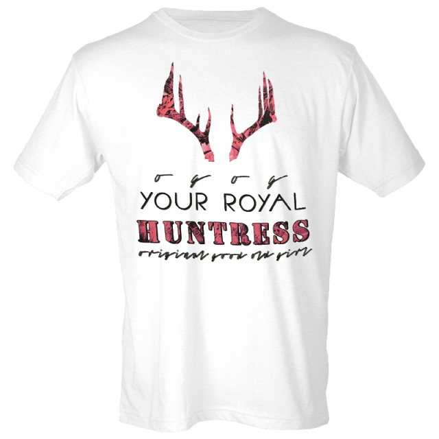 JJ Lawhorn White Royal Huntress Tee